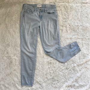 Frame Le Skinny de Jeanne Crop Jeans sz 29